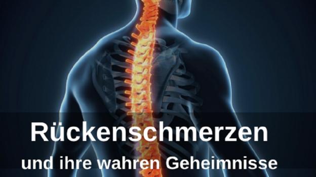 Rückenschmerzen Geheimnisse